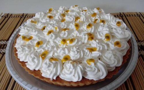 Torta mousse de maracujá – 1kg