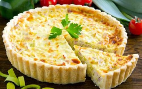 Quiche de queijo – 500g