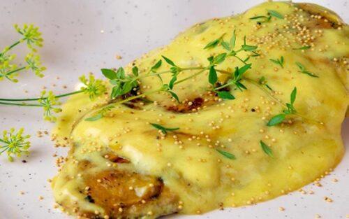 Filé de frango com mostarda – 500g