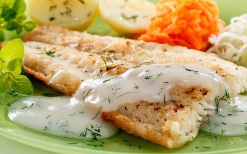 Filé de peixe com gorgonzola – 600g