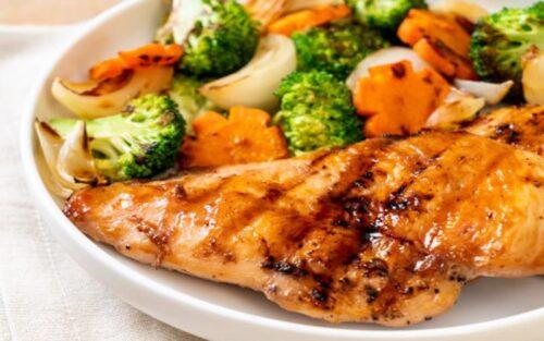 Filé de frango com legumes – 500g
