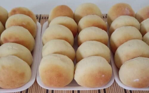 Pão de batata com catupiry – 800g (10 unidades)